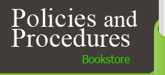 Policies and Procedures Bookstore Logo