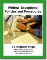 Writing Exceptional Policies and Procedures Book